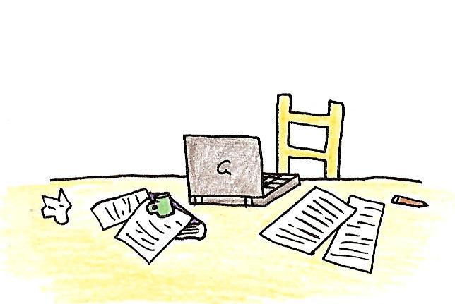 Skrivebord 1