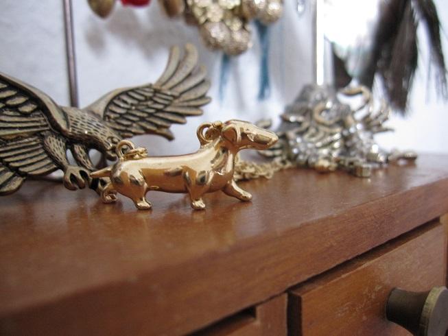 Gravhund halskæde