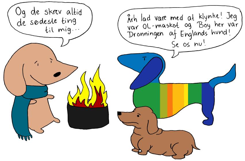 søde hunde tegninger